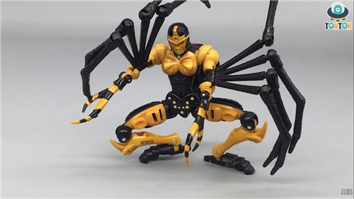 变形金刚Kingdom王国系列毒蜘蛛玩具实物图流出 变形金刚 第2张