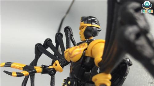 变形金刚Kingdom王国系列毒蜘蛛玩具实物图流出 变形金刚 第6张