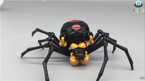变形金刚Kingdom王国系列毒蜘蛛玩具实物图流出 变形金刚 第3张