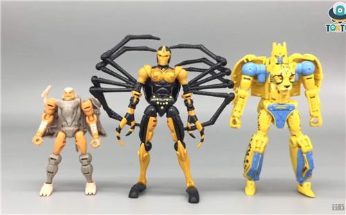 变形金刚Kingdom王国系列毒蜘蛛玩具实物图流出 变形金刚 第10张