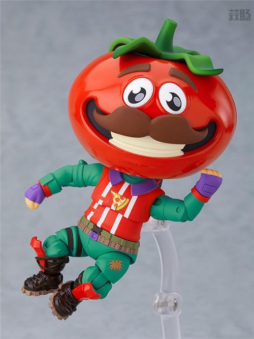 良笑社推出《堡垒之夜》番茄头粘土人 模玩 第1张