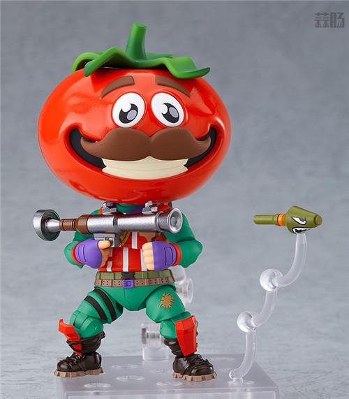 良笑社推出《堡垒之夜》番茄头粘土人 模玩 第2张