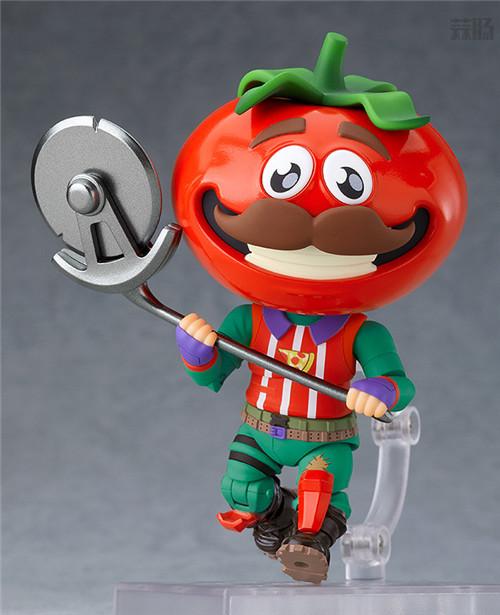 良笑社推出《堡垒之夜》番茄头粘土人 模玩 第3张