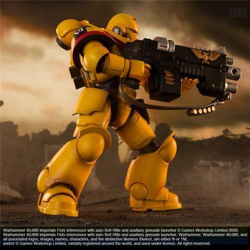 万代推出《战锤40K》帝国之拳星际战士可动手办 模玩 第7张