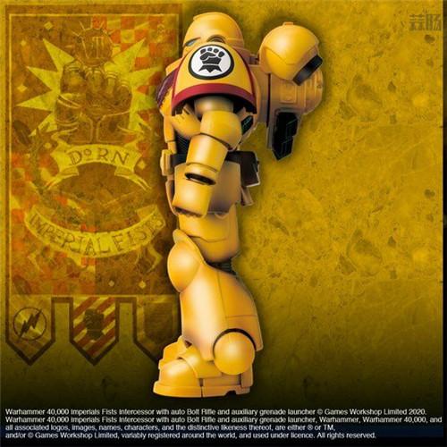 万代推出《战锤40K》帝国之拳星际战士可动手办 模玩 第3张
