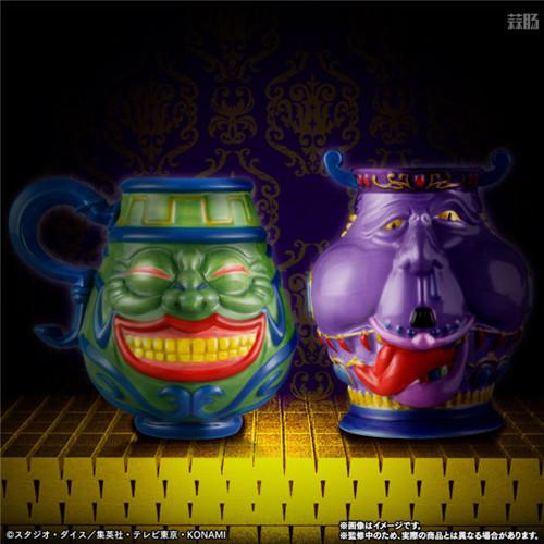 万代推出《游戏王》强欲之壶与贪欲之壶马克杯 模玩 第1张