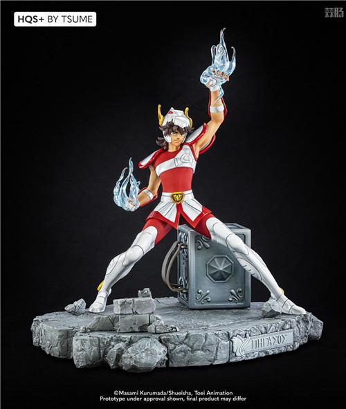 卢森堡雕像厂商推出《圣斗士》星矢1/4雕像 全球限量1800个 模玩 第1张