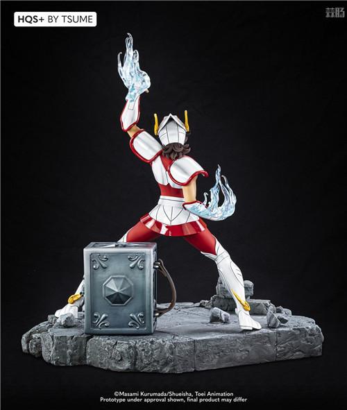 卢森堡雕像厂商推出《圣斗士》星矢1/4雕像 全球限量1800个 模玩 第8张