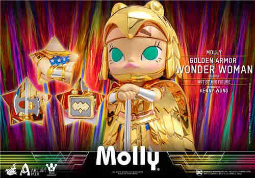 Hot Toys 与 Kennyswork 联动推出Molly伪黄金装甲神奇女侠版