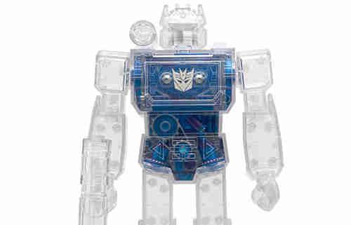 Super7推出《变形金刚》超级改造人声波透明版玩具