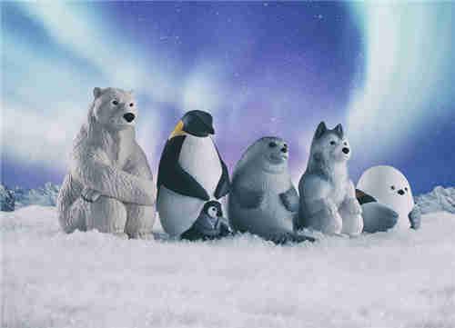万代推出等待中的动物扭蛋第四弹 放空北极熊在列