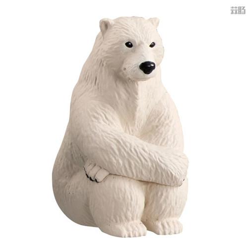 万代推出等待中的动物扭蛋第四弹 放空北极熊在列 模玩 第3张