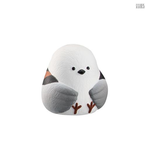 万代推出等待中的动物扭蛋第四弹 放空北极熊在列 模玩 第7张