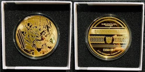 P1S推出《变形金刚》电影版擎天柱与威震天纪念金币等大量周边 变形金刚 第3张