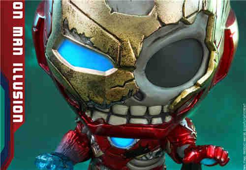 Hot Toys推出《蜘蛛侠: 英雄远征》《复仇者联盟4》COSBABY神秘客钢铁侠幻影与洛基