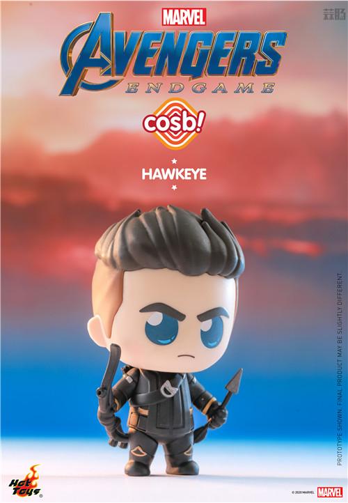Hot Toys推出新系列Cosbi盲盒人偶第一弹《复仇者联盟4》电影系列 复仇者联盟4 复联4 盲盒 cosbi HT HotToys 模玩  第5张