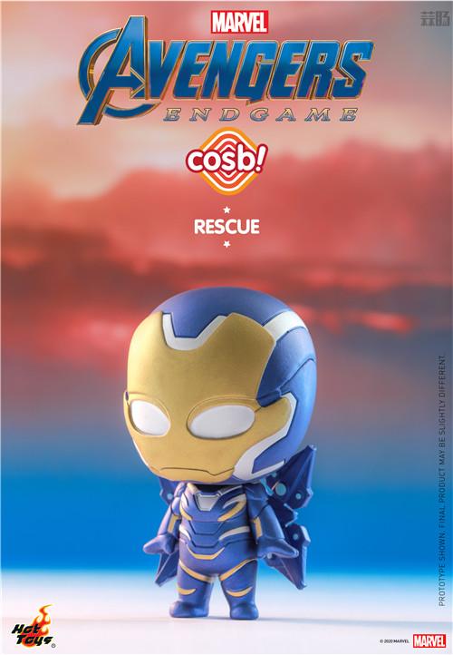 Hot Toys推出新系列Cosbi盲盒人偶第一弹《复仇者联盟4》电影系列 复仇者联盟4 复联4 盲盒 cosbi HT HotToys 模玩  第2张