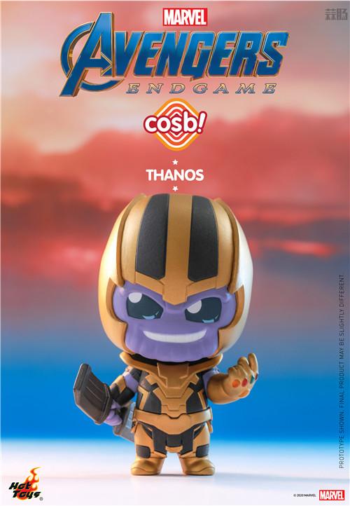 Hot Toys推出新系列Cosbi盲盒人偶第一弹《复仇者联盟4》电影系列 复仇者联盟4 复联4 盲盒 cosbi HT HotToys 模玩  第8张