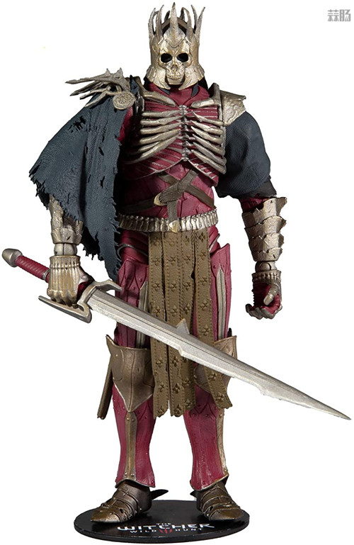 麦克法兰推出《巫师3:狂猎》狂猎之王艾瑞丁可动手办 艾瑞丁 巫师3:狂猎 麦克法兰 模玩  第1张