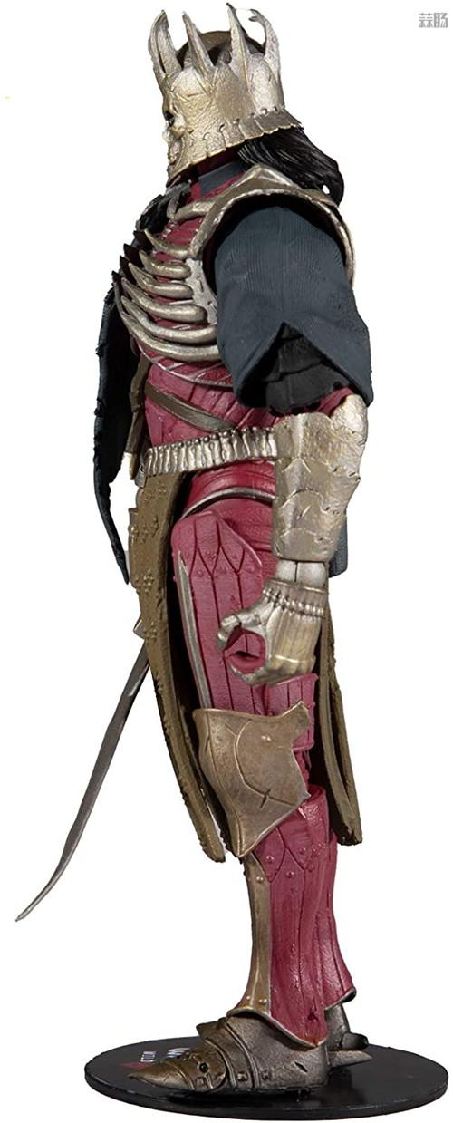 麦克法兰推出《巫师3:狂猎》狂猎之王艾瑞丁可动手办 艾瑞丁 巫师3:狂猎 麦克法兰 模玩  第3张