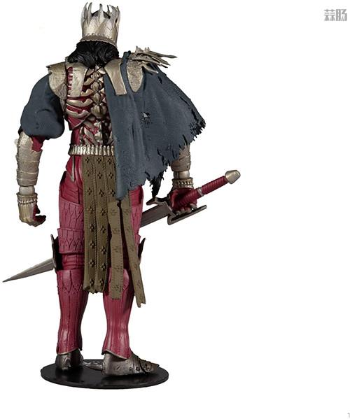 麦克法兰推出《巫师3:狂猎》狂猎之王艾瑞丁可动手办 艾瑞丁 巫师3:狂猎 麦克法兰 模玩  第2张
