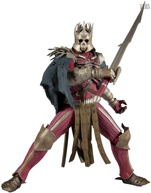 麦克法兰推出《巫师3:狂猎》狂猎之王艾瑞丁可动手办 艾瑞丁 巫师3:狂猎 麦克法兰 模玩  第5张