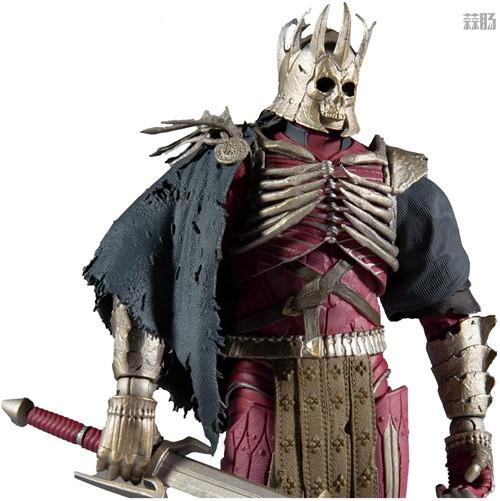 麦克法兰推出《巫师3:狂猎》狂猎之王艾瑞丁可动手办 艾瑞丁 巫师3:狂猎 麦克法兰 模玩  第6张