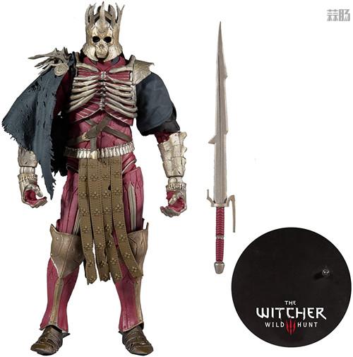 麦克法兰推出《巫师3:狂猎》狂猎之王艾瑞丁可动手办 艾瑞丁 巫师3:狂猎 麦克法兰 模玩  第7张