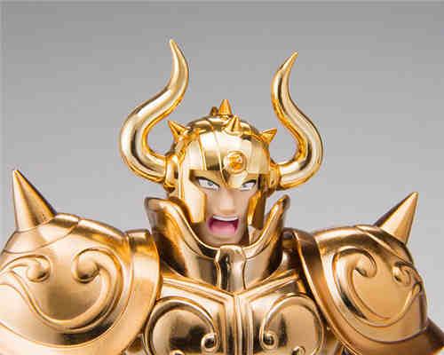 万代推出圣衣神话EX原始配色版金牛座阿尔德巴朗
