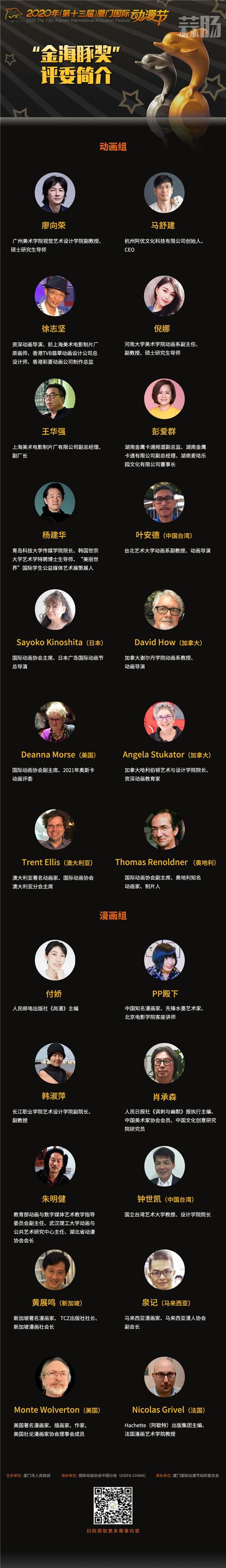 """厦门国际动漫节""""金海豚奖""""终评完满结束 颁奖仪式将于11月12日举行 厦门国际动漫节 金海豚奖 漫展  第2张"""