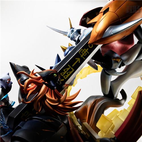 MegaHouse推出奥米加兽VS迪亚波罗兽手办 迪亚波罗兽 奥米加兽 数码宝贝大冒险:我们的战争游戏 MegaHouse 模玩  第2张