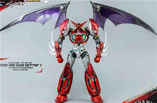 Threezero推出真盖塔机器人1号动画与金属配色双版本