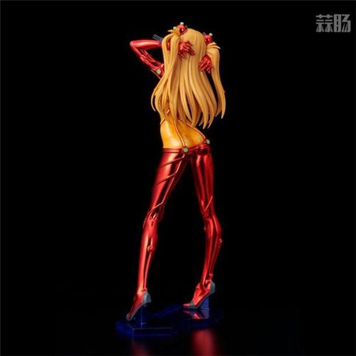 万代推出Figure Rise LABO明日香特殊镀膜版模型 明日香 福音战士新剧场版:破 Figure rise LABO 万代 模玩  第4张