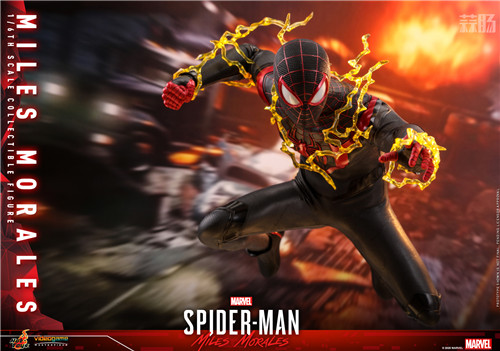 HT推出《漫威蜘蛛侠:迈尔斯•莫拉莱斯》迈尔斯•莫拉莱斯人偶 COSBABY 迈尔斯•莫拉莱斯 漫威 漫威蜘蛛侠:迈尔斯•莫拉莱斯 Hot Toys 模玩  第1张