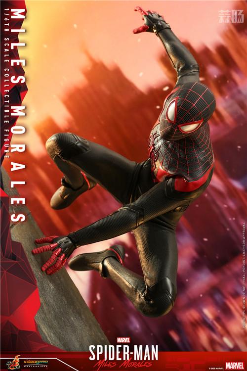 HT推出《漫威蜘蛛侠:迈尔斯•莫拉莱斯》迈尔斯•莫拉莱斯人偶 COSBABY 迈尔斯•莫拉莱斯 漫威 漫威蜘蛛侠:迈尔斯•莫拉莱斯 Hot Toys 模玩  第2张