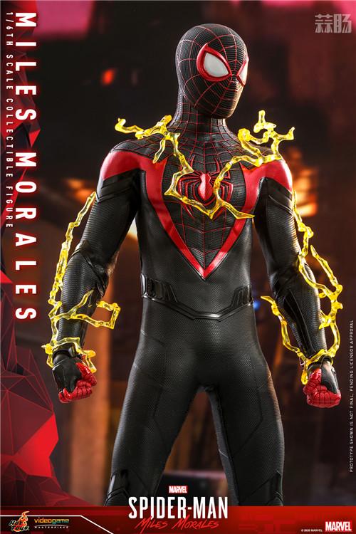 HT推出《漫威蜘蛛侠:迈尔斯•莫拉莱斯》迈尔斯•莫拉莱斯人偶 COSBABY 迈尔斯•莫拉莱斯 漫威 漫威蜘蛛侠:迈尔斯•莫拉莱斯 Hot Toys 模玩  第4张