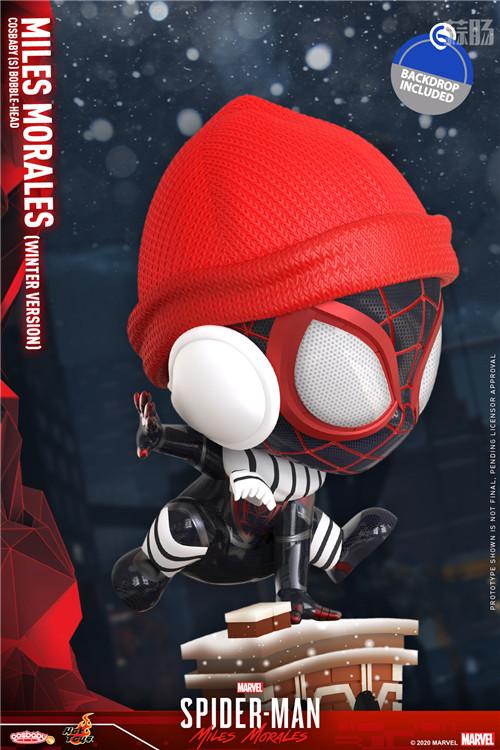 HT推出《漫威蜘蛛侠:迈尔斯•莫拉莱斯》迈尔斯•莫拉莱斯人偶 COSBABY 迈尔斯•莫拉莱斯 漫威 漫威蜘蛛侠:迈尔斯•莫拉莱斯 Hot Toys 模玩  第10张