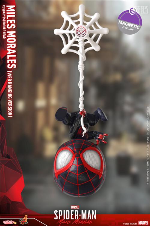 HT推出《漫威蜘蛛侠:迈尔斯•莫拉莱斯》迈尔斯•莫拉莱斯人偶 COSBABY 迈尔斯•莫拉莱斯 漫威 漫威蜘蛛侠:迈尔斯•莫拉莱斯 Hot Toys 模玩  第9张