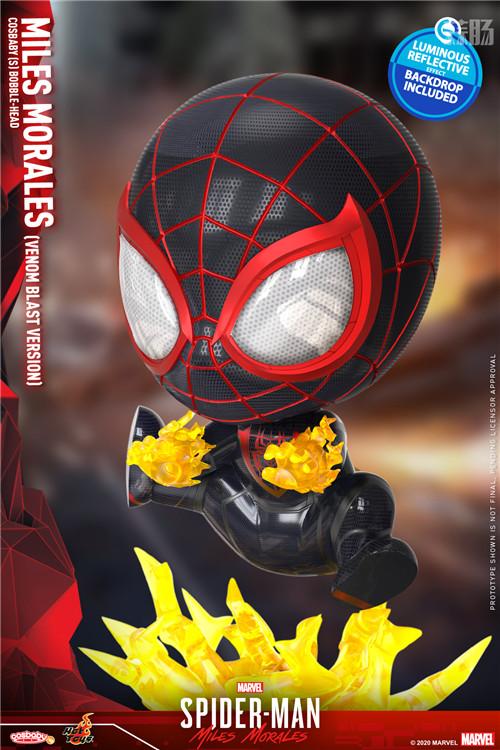 HT推出《漫威蜘蛛侠:迈尔斯•莫拉莱斯》迈尔斯•莫拉莱斯人偶 COSBABY 迈尔斯•莫拉莱斯 漫威 漫威蜘蛛侠:迈尔斯•莫拉莱斯 Hot Toys 模玩  第7张