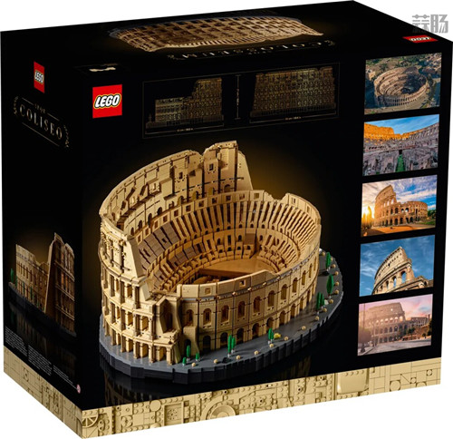 """乐高推出史上最大盒装乐高""""10276罗马斗兽场"""" 超越千年隼 罗马斗兽场 LEGO 乐高 模玩  第2张"""