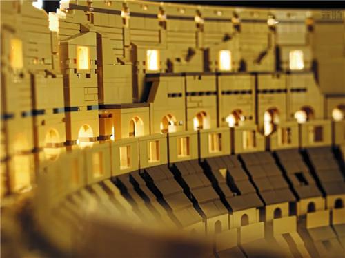 """乐高推出史上最大盒装乐高""""10276罗马斗兽场"""" 超越千年隼 罗马斗兽场 LEGO 乐高 模玩  第7张"""