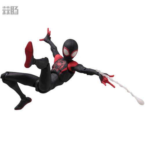 千值练推出SVA《蜘蛛侠:平行宇宙》迈尔斯可动人偶 迈尔斯·莫拉莱斯 蜘蛛侠:平行宇宙 SV Action 千值练 模玩  第8张