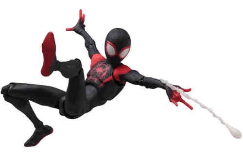千值练推出SVA《蜘蛛侠:平行宇宙》迈尔斯可动人偶