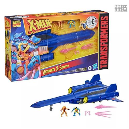 变形金刚联动X战警首款玩具ULTIMATE X SPANSE明年3月发售 ULTIMATE X SPANSE X战警 漫威 变形金刚 孩之宝 变形金刚  第2张