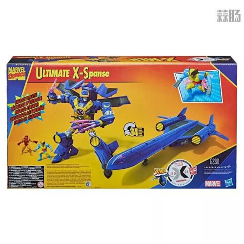 变形金刚联动X战警首款玩具ULTIMATE X SPANSE明年3月发售 ULTIMATE X SPANSE X战警 漫威 变形金刚 孩之宝 变形金刚  第3张