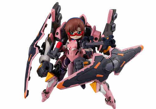 MegaHouse推出Desktop Army《福音战士新剧场版》真希波&EVA 8号机α
