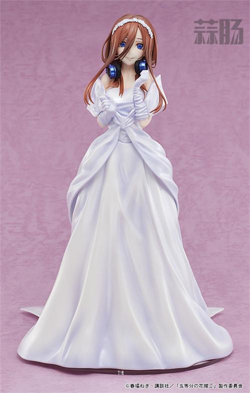 AMAKUNI推出《五等分的花嫁》中野三玖婚纱版1/7手办 中野三玖 五等分的花嫁 AMAKUNI 模玩  第4张