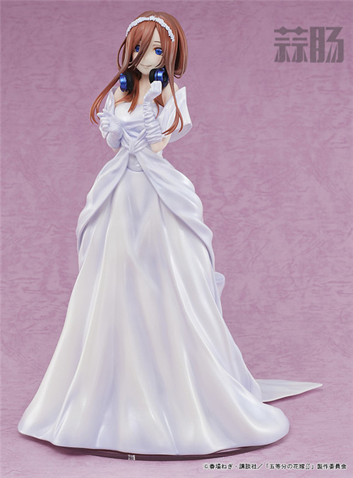 AMAKUNI推出《五等分的花嫁》中野三玖婚纱版1/7手办 中野三玖 五等分的花嫁 AMAKUNI 模玩  第6张