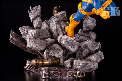 寿屋推出FAS系列《X战警》镭射眼1/6雕像 雕像 镭射眼 X战警 Fine Art Statue 寿屋 模玩  第9张
