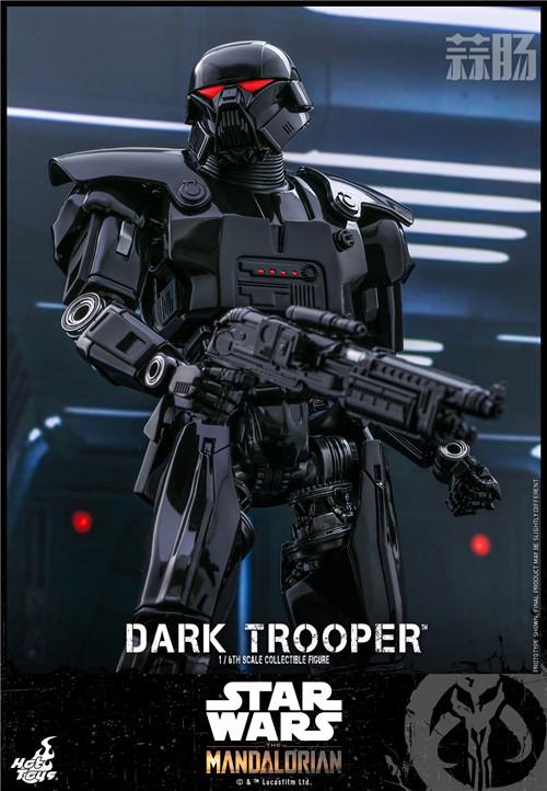 Hot Toys推出《曼达洛人》第二季黑暗士兵1:6比例珍藏人偶 黑暗士兵 曼达洛人 星球大战 HT Hot Toys 模玩  第2张